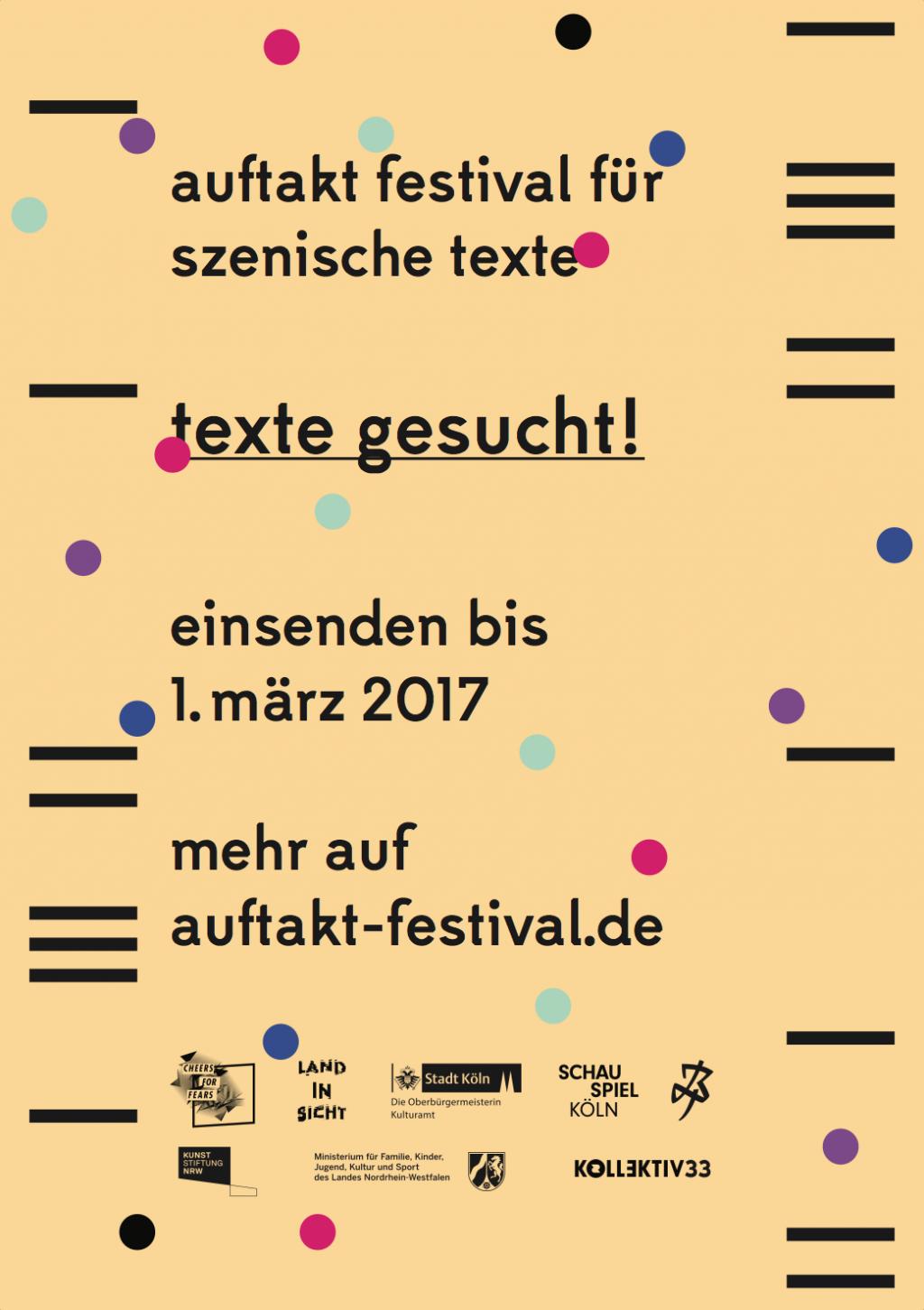 STUDIO MARIO FRANK auftakt festival für szenische texte